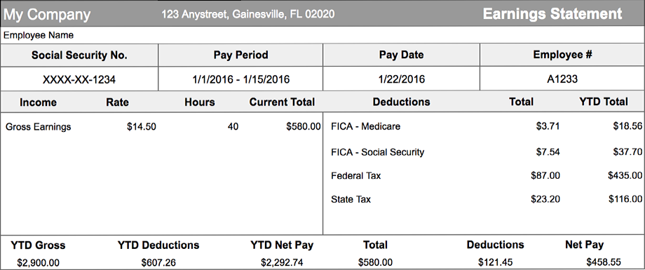 What is a Pay stub generator? - Passive Family Income